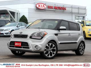 Used 2013 Kia Soul ONE OWNER FULLY CERTIFIED ,MOOD LIGHT SPEAKERS ,LEATHER SEATS, SUNROOF ,NAVIGATION, HEATED MIRRORS, for sale in Burlington, ON