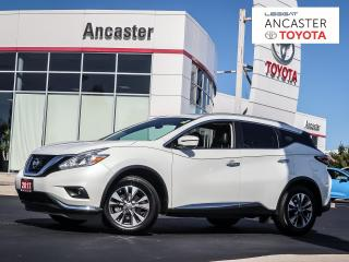 Used 2017 Nissan Murano SL - NAVI|PANORAMIC SUNROOF|LEATHER|BLUETOOTH for sale in Ancaster, ON