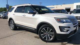 Used 2017 Ford Explorer Platinum for sale in Midland, ON
