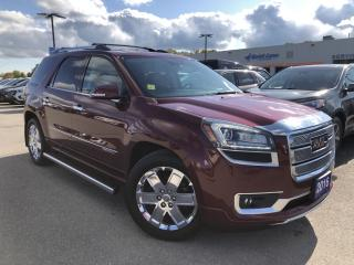 Used 2016 GMC Acadia Denali for sale in Midland, ON