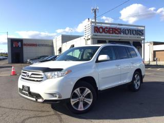Used 2013 Toyota Highlander 4WD - 7 PASS - SUNROOF - LEATHER for sale in Oakville, ON