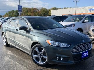 Used 2015 Ford Fusion SE for sale in Midland, ON