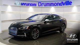 Used 2018 Audi S5 SPORTBACK + TECHNIK + GARANTIE + BANG&OL for sale in Drummondville, QC