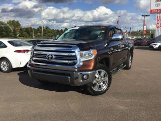 Used 2017 Toyota Tundra Platinum for sale in Moncton, NB