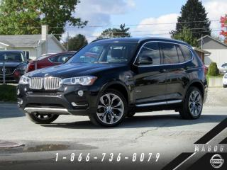 Used 2015 BMW X3 xDrive28i + PREMIUM PLUS + X-LINE + NAVI for sale in Magog, QC