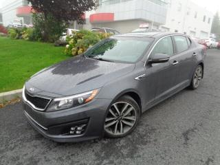Used 2015 Kia Optima SX Turbo * TOIT * CUIR * NAV * for sale in Ste-Julie, QC