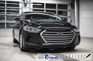 Used 2018 Hyundai Elantra L RIMOUSKI HYUNDAI for sale in Rimouski, QC