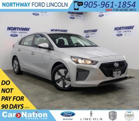 Used 2019 Hyundai IONIQ Essential | HTD SEATS | BACKUP CAM | USB+AUX | for sale in Brantford, ON