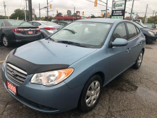 Used 2009 Hyundai Elantra Auto l Bluetooth l Cruise for sale in Waterloo, ON