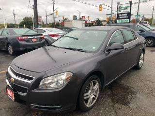 Used 2010 Chevrolet Malibu Leather l Remote Start l No Accidents for sale in Waterloo, ON