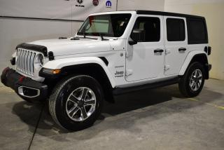 Used 2018 Jeep Wrangler Unlimited Sahara Navigation+ for sale in Sherbrooke, QC