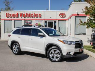 Used 2015 Toyota Highlander LIMITED  for sale in North York, ON