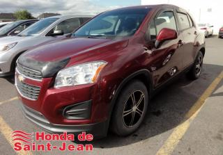 Used 2015 Chevrolet Trax Traction avant 4 portes LS for sale in St-Jean-Sur-Richelieu, QC