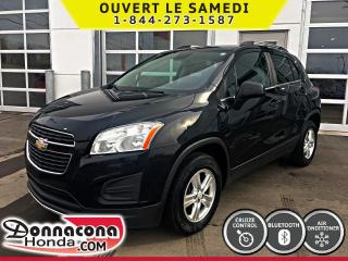Used 2014 Chevrolet Trax 1LT AWD *BLUETOOTH, CRUISE, AIR* for sale in Donnacona, QC