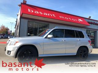 Used 2010 Mercedes-Benz GLK-Class 4Matic, Leather, Heated Seats, Sunroof!! for sale in Surrey, BC
