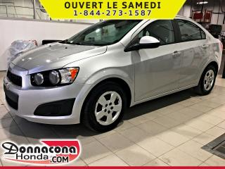 Used 2012 Chevrolet Sonic LS *UNE SEULE PRORPRIETAIRE* for sale in Donnacona, QC