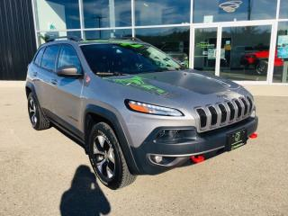 Used 2015 Jeep Cherokee Trailhawk, Heated Seats, Pano Roof for sale in Ingersoll, ON