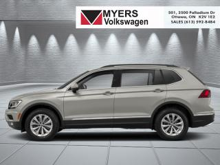New 2019 Volkswagen Tiguan Comfortline 4MOTION  -  Bluetooth for sale in Kanata, ON