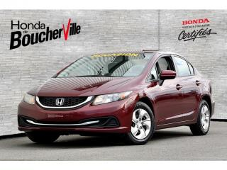 Used 2014 Honda Civic LX Manuel Garantie complète 120, 000 ou oct 2019 for sale in Boucherville, QC