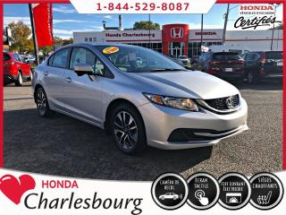 Used 2015 Honda Civic EX *AUTOMATIQUE*TOIT OUVRANT* for sale in Charlesbourg, QC