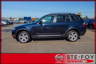 Used 2010 BMW X3 3.0i XDrive for sale in Ste-Foy, QC
