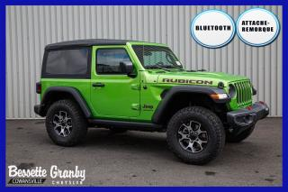 Used 2020 Jeep Wrangler Rubicon +Hitch, Télé-Déverrouillage+ for sale in Cowansville, QC