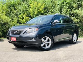 Used 2011 Lexus RX 350 AWD| TEXT US|647.678.7778| HEATED LEATHER SEATS|SUNROOF| for sale in Mississauga, ON