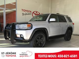 Used 2010 Toyota 4Runner * 4X4 * SR5 V6 * CUIR * TOIT OUVRANT * for sale in Mirabel, QC