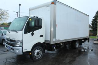Used 2013 Hino 195 20 Foot Box Rear Lift for sale in Brampton, ON