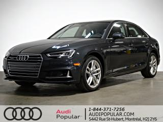 Used 2019 Audi A4 Technik 45 TFSI quattro for sale in Montréal, QC