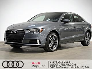 Used 2019 Audi A3 Progressiv 45 TFSI quattro for sale in Montréal, QC