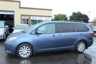 Used 2017 Toyota Sienna Limited Pano Roof Loaded for sale in Brampton, ON