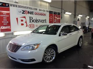 Used 2013 Chrysler 200 4dr Sdn LIMITED INTÉRIEUR EN CUIR MOTEUR V-6 !!!! for sale in Blainville, QC