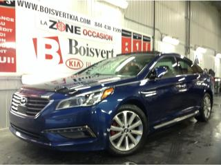 Used 2016 Hyundai Sonata SONATA LIMITED CUIR TOIT PANO GPS CRUISE INTEL. for sale in Blainville, QC