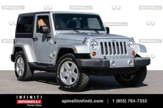 Used 2011 Jeep Wrangler Sahara**** BAS KM TOIT MOU + DUR + PNEUS HIVERS for sale in Montréal, QC