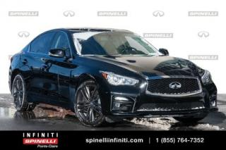 Used 2014 Infiniti Q50 SPORT /GPS / AWD/ STILLEN SPORT / GPS / AWD / EXHAUST STILLEN / BREMBO for sale in Montréal, QC