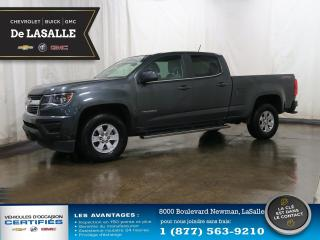 Used 2016 Chevrolet Colorado 4WD WT for sale in Lasalle, QC