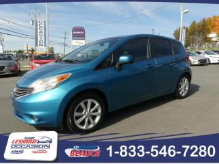 Used 2014 Nissan Versa Note SL 1.6 à hayon AUTOM. for sale in St-Georges, QC