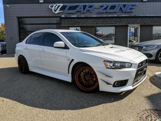 Used 2012 Mitsubishi Lancer Evolution GSR LOW KMS 6 SPEED AWD for sale in Calgary, AB