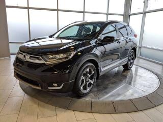 Used 2017 Honda CR-V TOURING PKG with Navigation for sale in Edmonton, AB