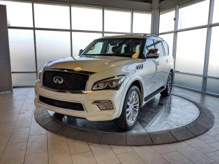 Used 2017 Infiniti QX80 TECH PKG/CPO for sale in Edmonton, AB