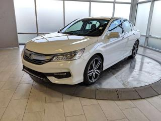 Used 2017 Honda Accord Sedan Touring - One Owner! - Accident Free Carfax! for sale in Edmonton, AB