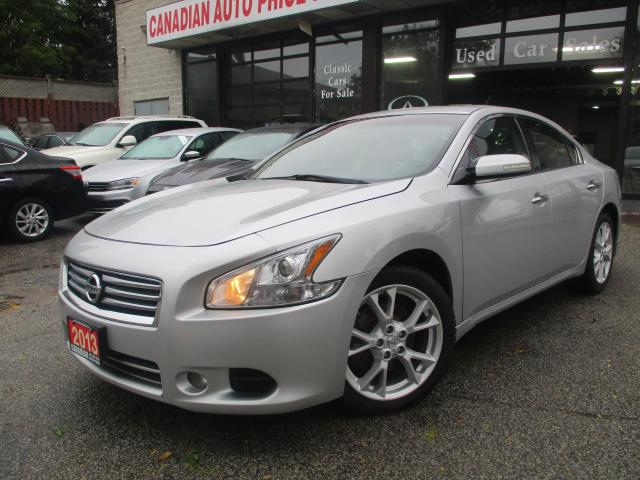 2013 Nissan Maxima 3.5 SV-LEATHER-SUNROOF-BLTOOTH-HEATED-ALOY