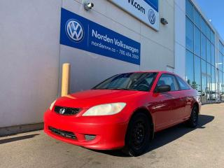 Used 2004 Honda Civic Cpe LX 5SPD M/T - PWR WINDOWS / LOCKS + CRUISE for sale in Edmonton, AB