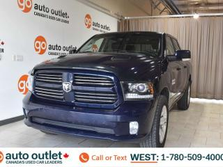 Used 2013 RAM 1500 Sport, 5.7L V8, 4x4, Crew Cab, Short box, Tow package, Leather/Cloth seats, Back up camera, Bluetooth for sale in Edmonton, AB