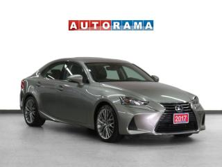Used 2017 Lexus IS 300 4WD Navigation Leather Sunroof Backup Cam for sale in Toronto, ON