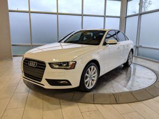 Used 2013 Audi A4 PREMIUM PLUS for sale in Edmonton, AB