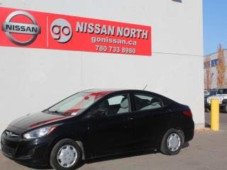 Used 2012 Hyundai Accent GL/PW/PL/BLUETOOTH/CRUISE for sale in Edmonton, AB