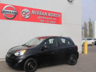 Used 2015 Nissan Micra S/5 SPEED/AUX INPUT for sale in Edmonton, AB