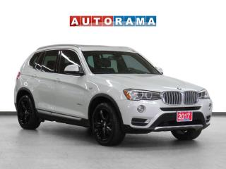 Used 2017 BMW X3 xDrive28i Navigation Leather Pano-Sunroof B-Cam for sale in Toronto, ON